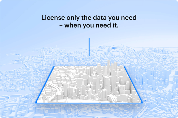 flexible data licensing