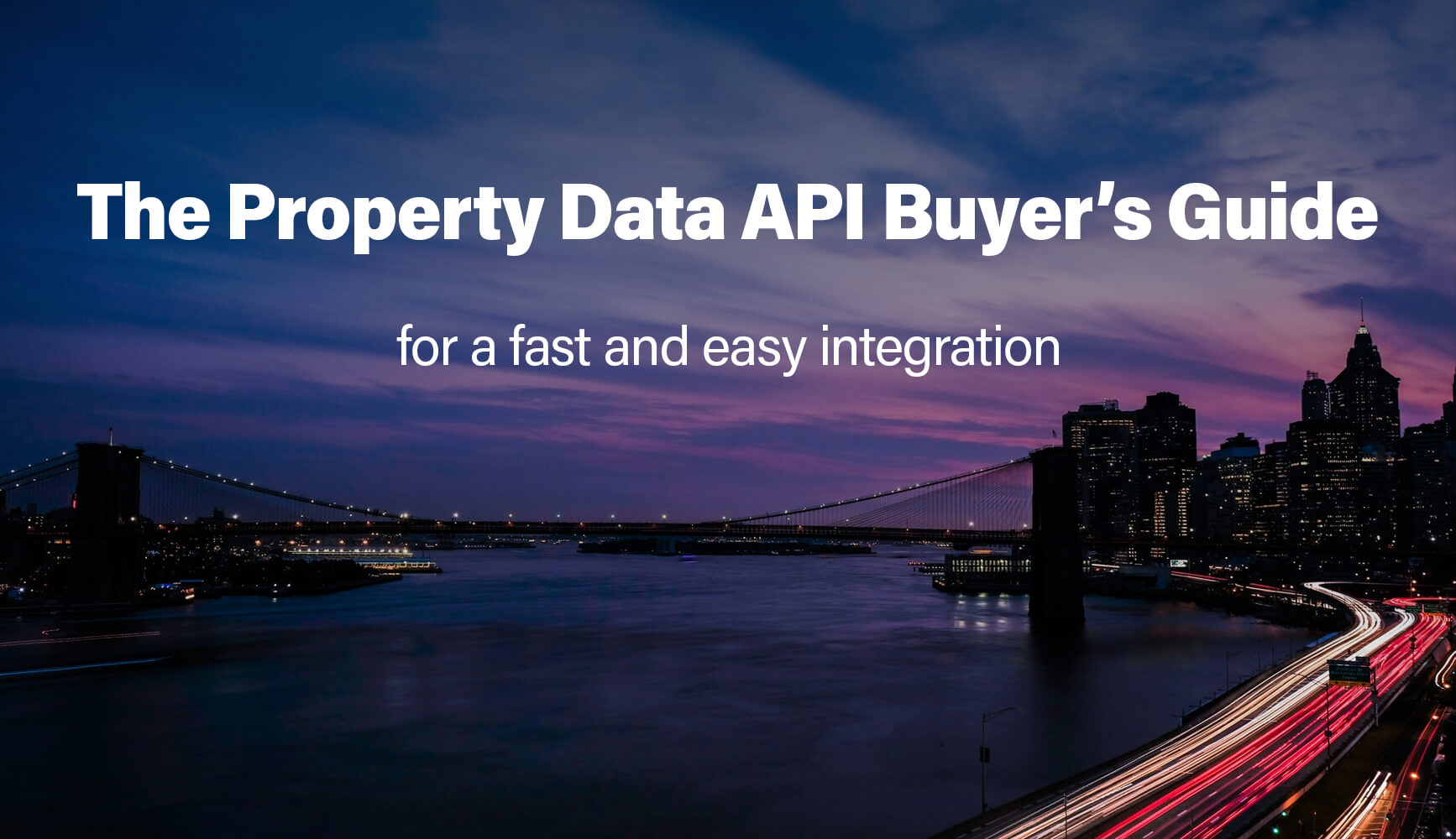 The Property Data API Buyer's Guide - Part 1